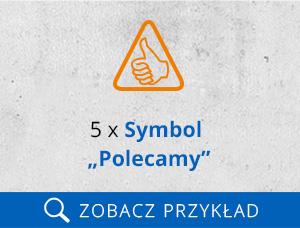symbol polecamy