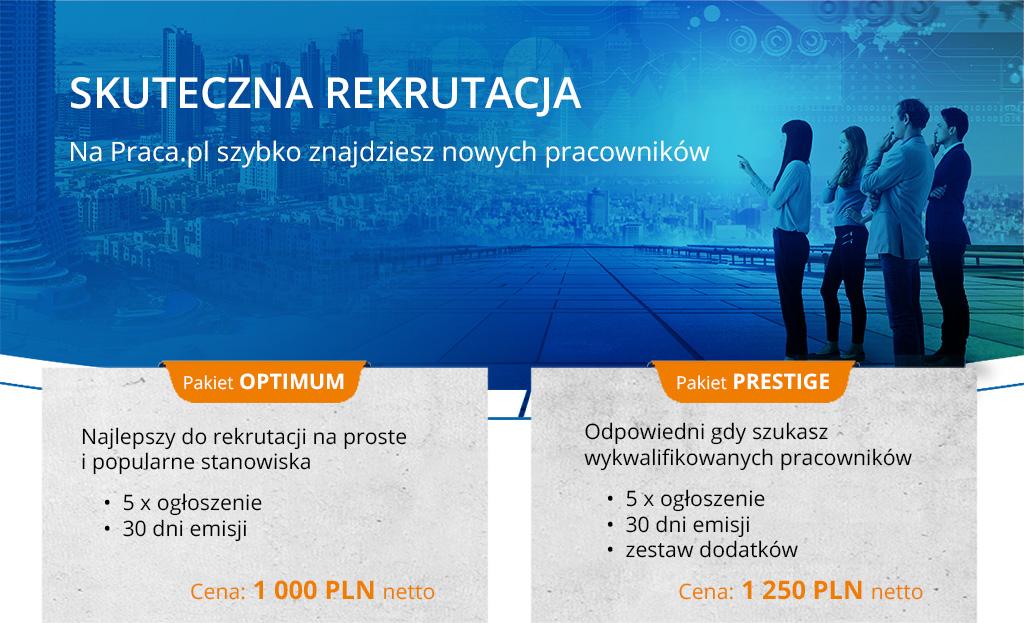 Skuteczna rekrutacja. Na Praca.pl szybko znajdziesz nowych pracowników